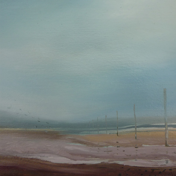 'Causeway' oil on canvas